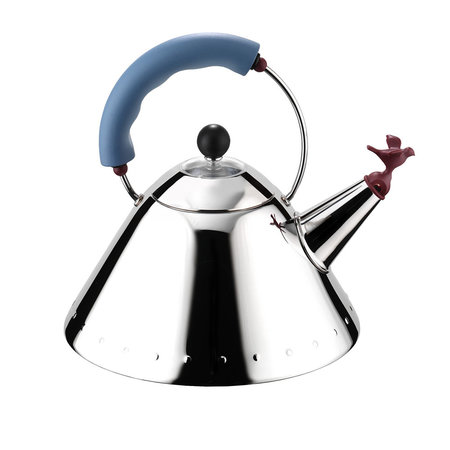 Alessi - Bird Whistle Kettle - Blue