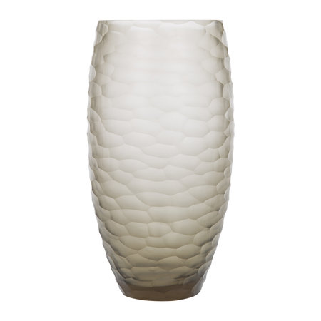 Luxe - Forbury Glass Vase - Smoke
