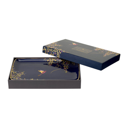 Sara Miller - Chelsea Collection Trinket Tray - Navy
