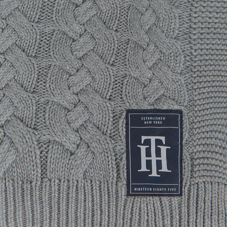 Tommy Hilfiger - The American Classic Throw - Gray