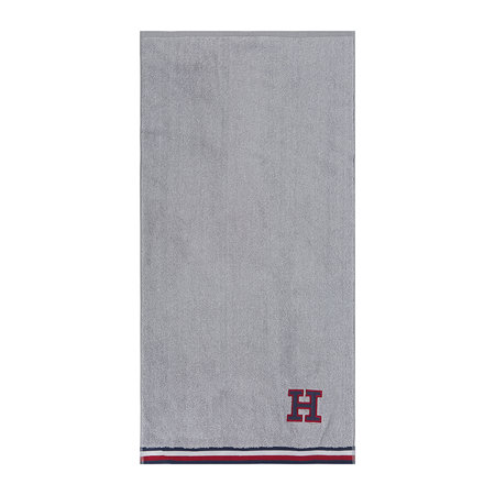 Tommy Hilfiger - Chine Towel - Grey - Bath Towel