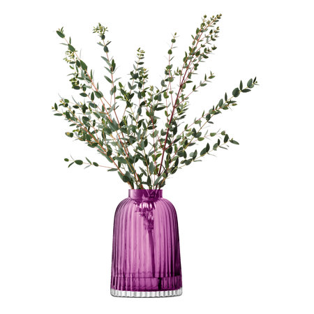 LSA International - Pleat Vase - Heidekrautfarben - 20cm