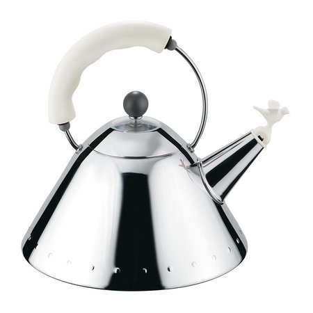 Alessi - Bird Whistle Kettle - White
