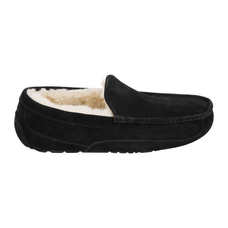 UGG® - Men's Ascot Suede Slippers - Black