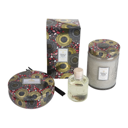 Voluspa - Japonica Limited Edition Candle - 397g - Ebony & Stone Fruit