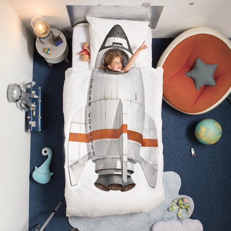 Snurk - Rocket Quilt Set - Single