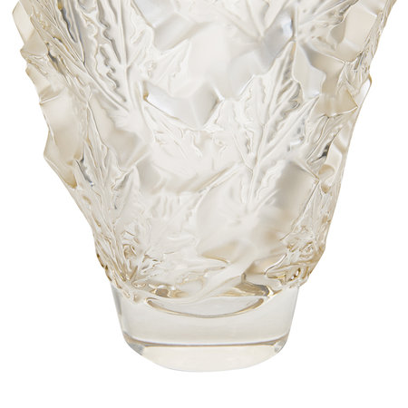 Lalique - Champs-Elysees Vase - Gold Luster - Small