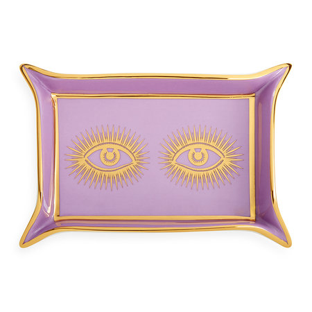 Jonathan Adler - Eyes Valet Tray - Purple/Gold