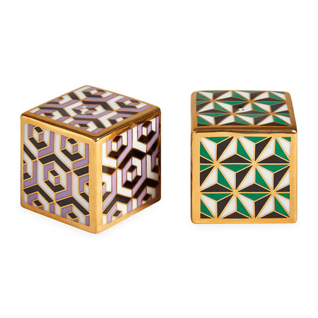 Jonathan Adler - Versailles Salt & Pepper Shakers - Multicolour