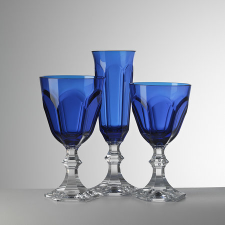 Mario Luca Giusti - High Dolce Vita Acrylic Wine Glass - Blue