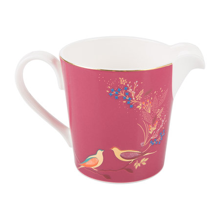 Sara Miller - Chelsea Collection Cream Jug - Pink