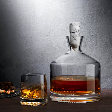 Nude - Alba Whiskey Decanter - Short