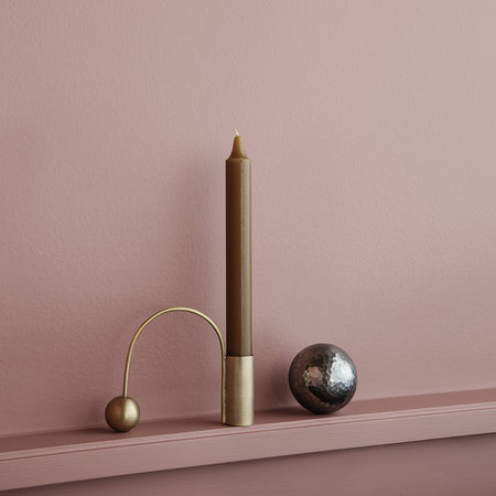 Ferm Living - Balance Brass Candle Holder