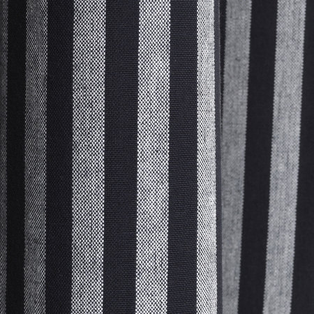 Ferm Living - Chambray Shower Curtain - Striped - Black/White