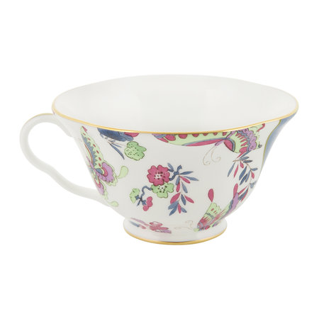 Wedgwood - Butterfly Bloom Teacup and Saucer Green