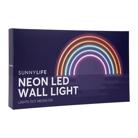 Buy Sunnylife Neon LED Wall Light Rainbow #0: neon led wall light rainbow small