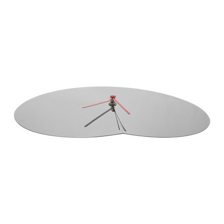 Alessi - Arris Wall Clock - Stainless Steel