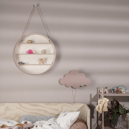 Buy ferm living cloud wall lamp dusty rose amara previous mozeypictures Images