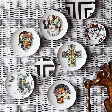 Christian Lacroix - Love Who You Want - 'Miss Harlequin' Plate
