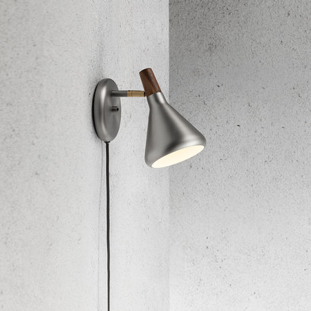 A by AMARA - Float Wall Lamp - Brushed Steel