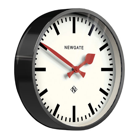 Newgate Clocks - The Luggage Clock - Black