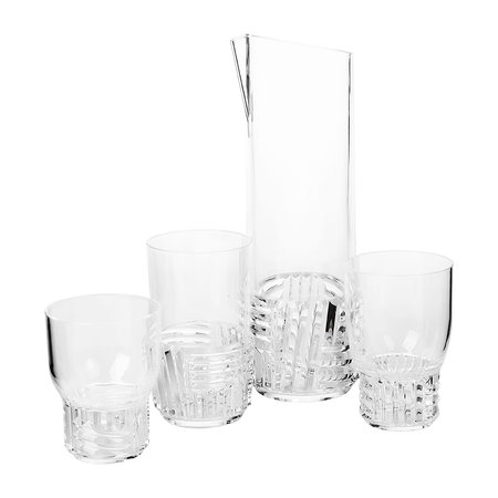 Kartell - Trama Water Glass - Crystal