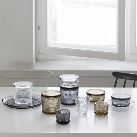 Iittala - Kastehelmi Jar - Grey - Small