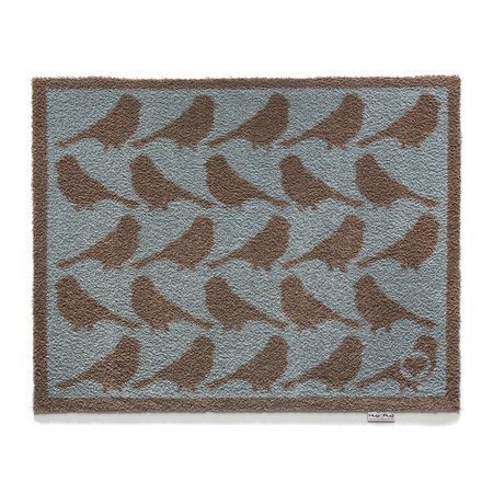 Hug Rug - Birds Washable Recycled Door Mat - 65x85cm