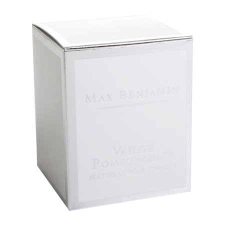 Max Benjamin - Classic Collection Scented Candle - 190g - White Pomegranate
