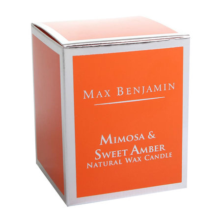 Max Benjamin - Classic Collection Scented Candle - 190g - Mimosa & Sweet Amber