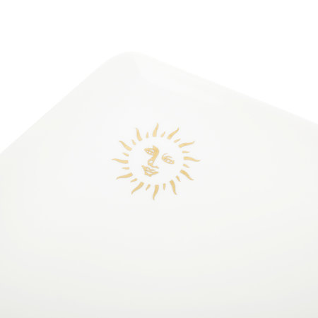 casacarta - Sun Tray - Fine Bone China - White