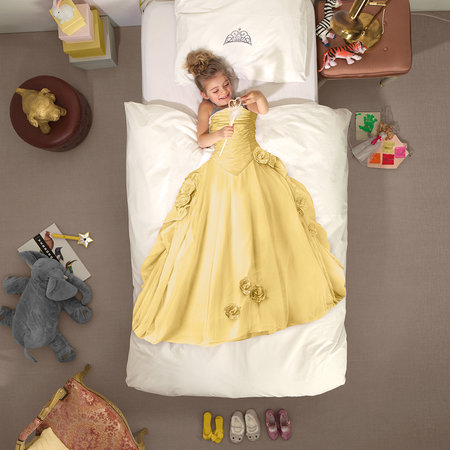 Snurk - Princess Quilt Set - Yellow - Double