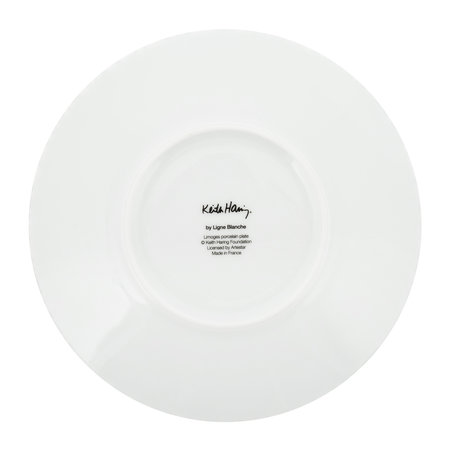 Ligne Blanche - Keith Haring 'Child' Plate