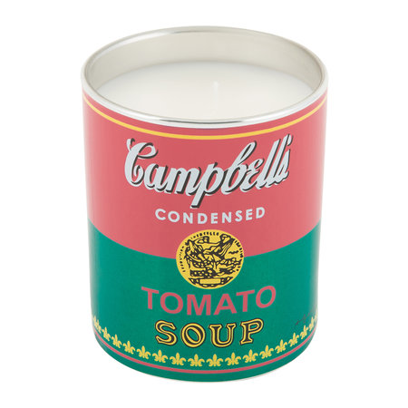 Ligne Blanche - Bougie Parfumée Andy Warhol - Soupe Campbell's - Gaspacho