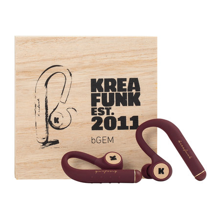 KREAFUNK - bGem Bluetooth In-Ear Headphones - Pl