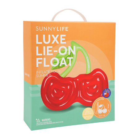 Sunnylife - Luxe Lie-On Inflatable Cherry