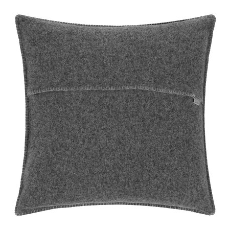 Zoeppritz since 1828 - Coussin Soft Wool - 50x50cm - Titane
