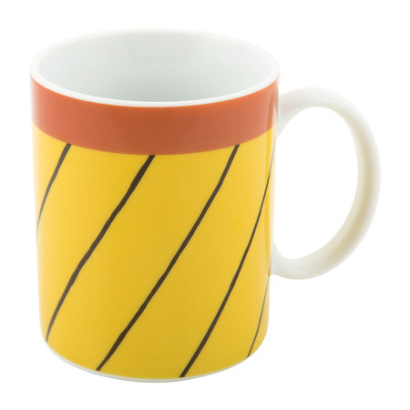 Bitossi Home - Rio Mug - Thin Black Stripes