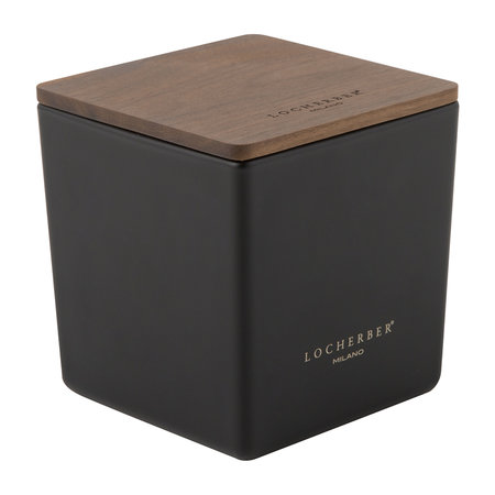 Locherber Milano - Malabar Pepper Scented Candle & Canaletto Walnut Lid - 210g