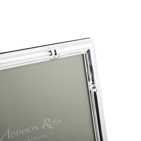 Addison Ross - Bamboo Photo Frame - Silver - 4x6""