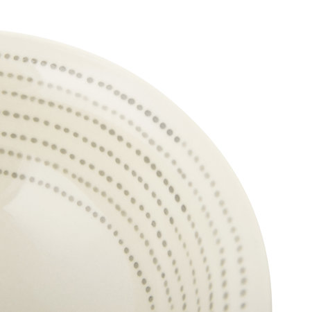 Nkuku - Bria Ceramic Bowl - Grey Dots