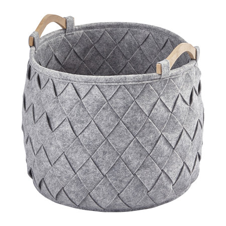 Aquanova - Amy Storage Basket - Silver Gray