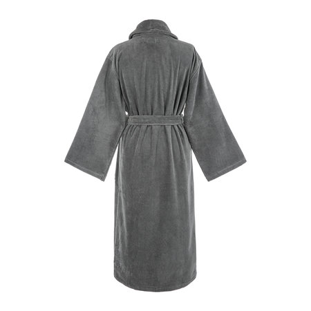 A by Amara - Slate Velour Bathrobe
