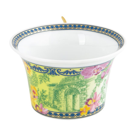Versace Home - 25th Anniversary D.V. Floralia Teacup & Saucer - Limited Edition