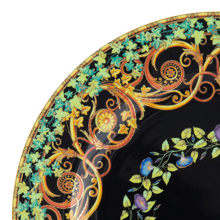 Versace Home - 25th Anniversary Gold Ivy Plate - Limited Edition