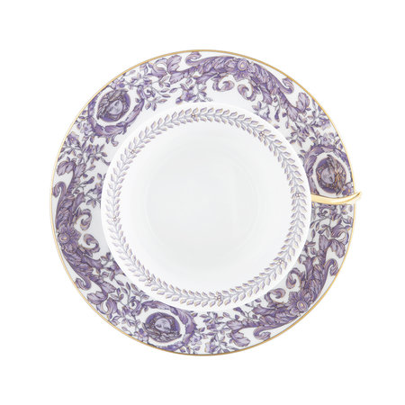 Versace Home - 25th Anniversary Le Grand Divertissement Teacup & Saucer - Limited Edition