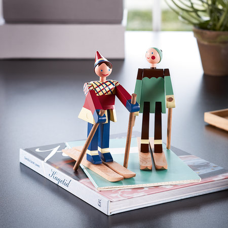 Kay Bojesen - Datti The Girl Skier Wooden Toy