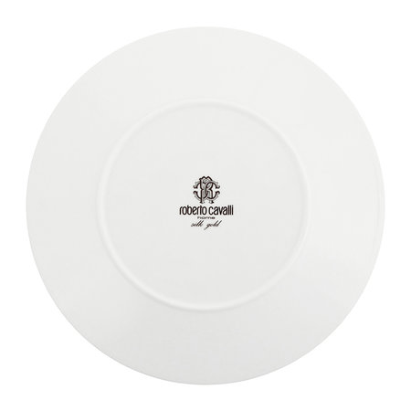 Roberto Cavalli - Silk Gold Dinner Plates - Set of 6