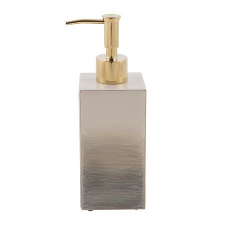 Mike + Ally - Ombre Soap Dispenser - Natural/Gold
