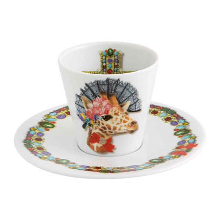 Christian Lacroix - Love Who You Want Coffee Cups & Saucers - Set of 4